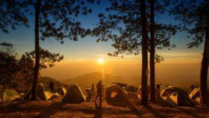 キャンプは春と秋がおすすめ
